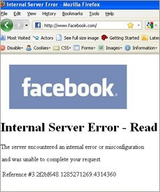 Facebook Network Problems