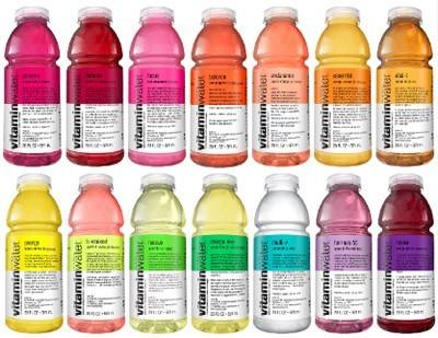 Vitamin Water by Glaceau