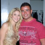 Amr Diab with Shakira