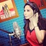 Elissa Photo in recording studio