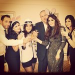 Elissa New years eve photo