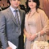 Julia Boutros Photo with her Husband