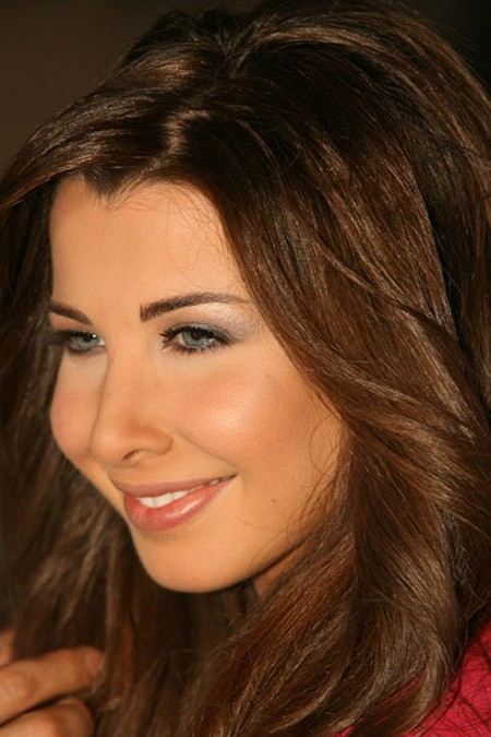 Nancy Ajram videoclip shooting