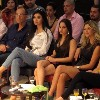Blue jeans festival Rosarita Tawil Katia Kaadi and other guests watching fashion show