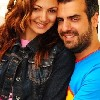 gabrielle bou rached and husband sam assaf photo