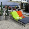 Outdoor sunbathing sofa