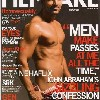 john abraham photo on the cover of Filmfare Magazine