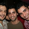 karim kamel with gay friends