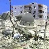 Photo of Mosque Destroyed in South Lebanon