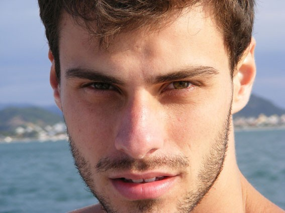 Face close-up photo of Lucas Malvacini Mister Brazil