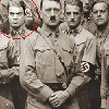 Man Behind Omar Soliman behind Hitler photo