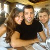 Mohamed Bash with Lara Scandar and Michel Azzi  cutest trio ever